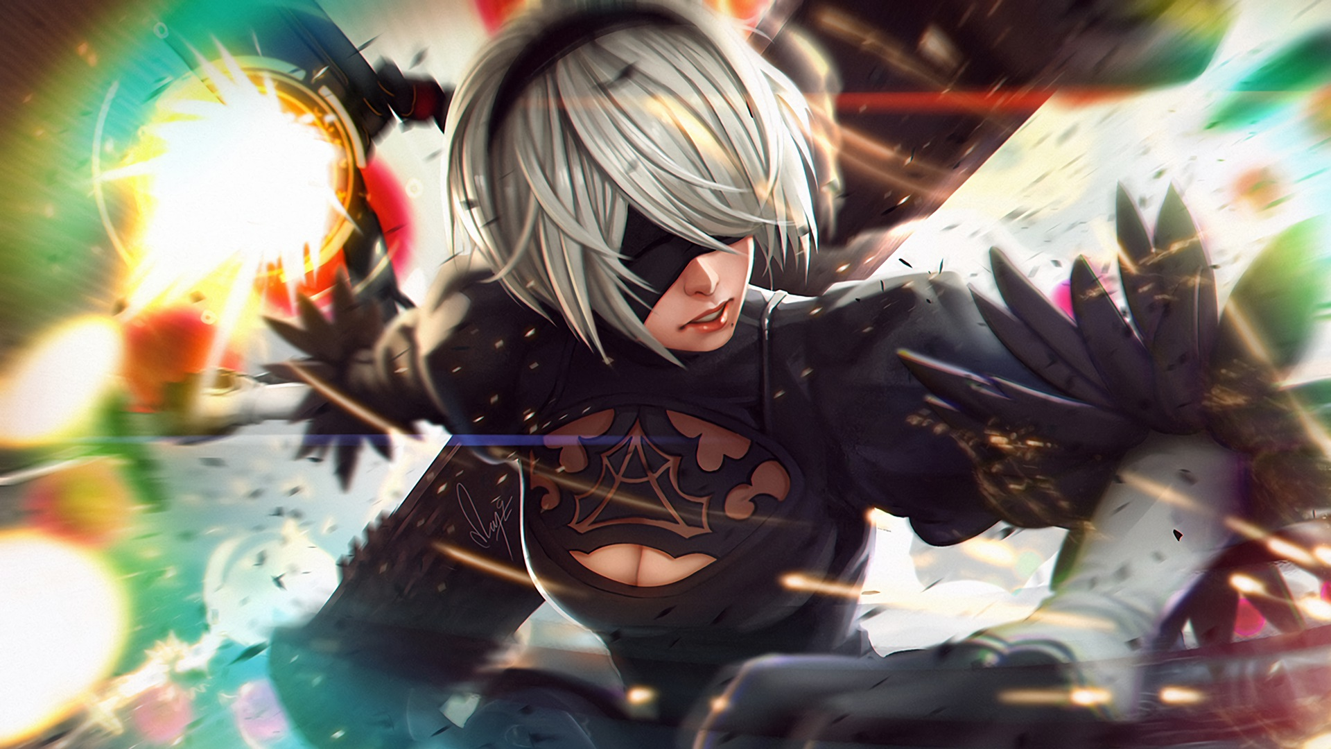 Hd wallpaper nier automata - Video Game Nier Automata Yorha No 2 Type B Wallpaper