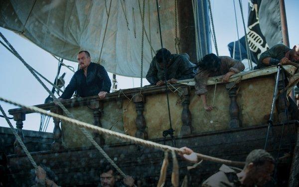 TV Show Black Sails Toby Stephens Captain Flint HD Wallpaper   Background Image