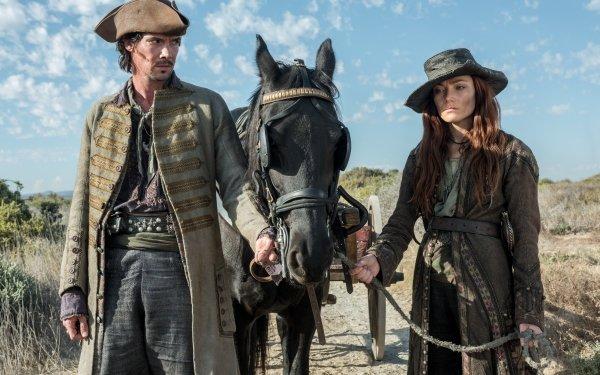 TV Show Black Sails Toby Schmitz Jack Rackham Clara Paget Anne Bonny HD Wallpaper | Background Image