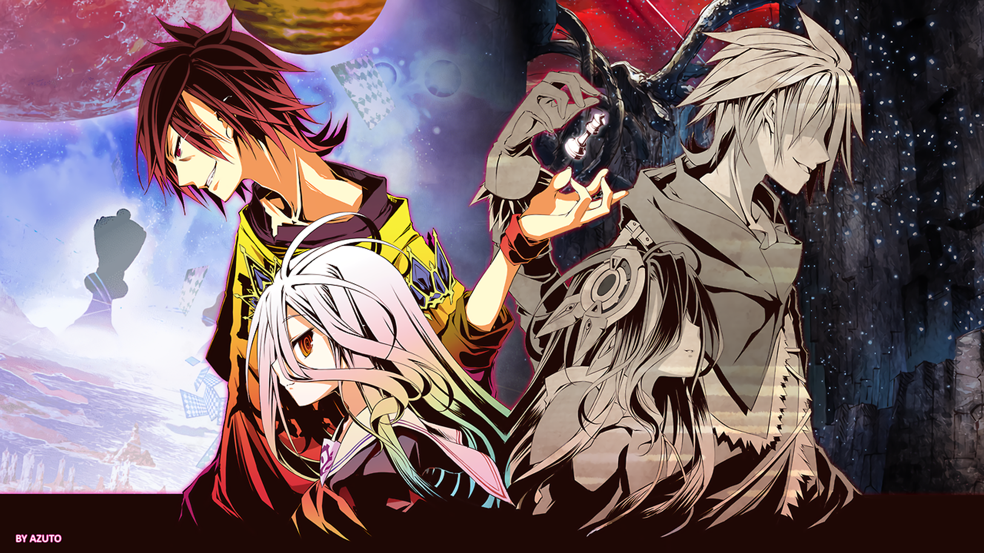 176 Sora No Game No Life Hd Wallpapers Background Images