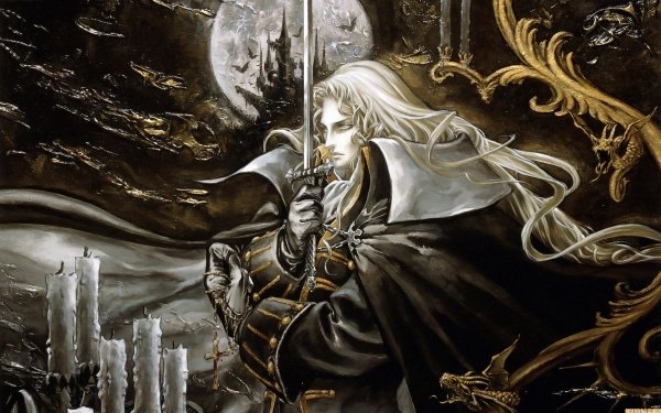 Video Game Castlevania: Symphony of the Night Castlevania Warrior Magic Alucard HD Wallpaper | Background Image