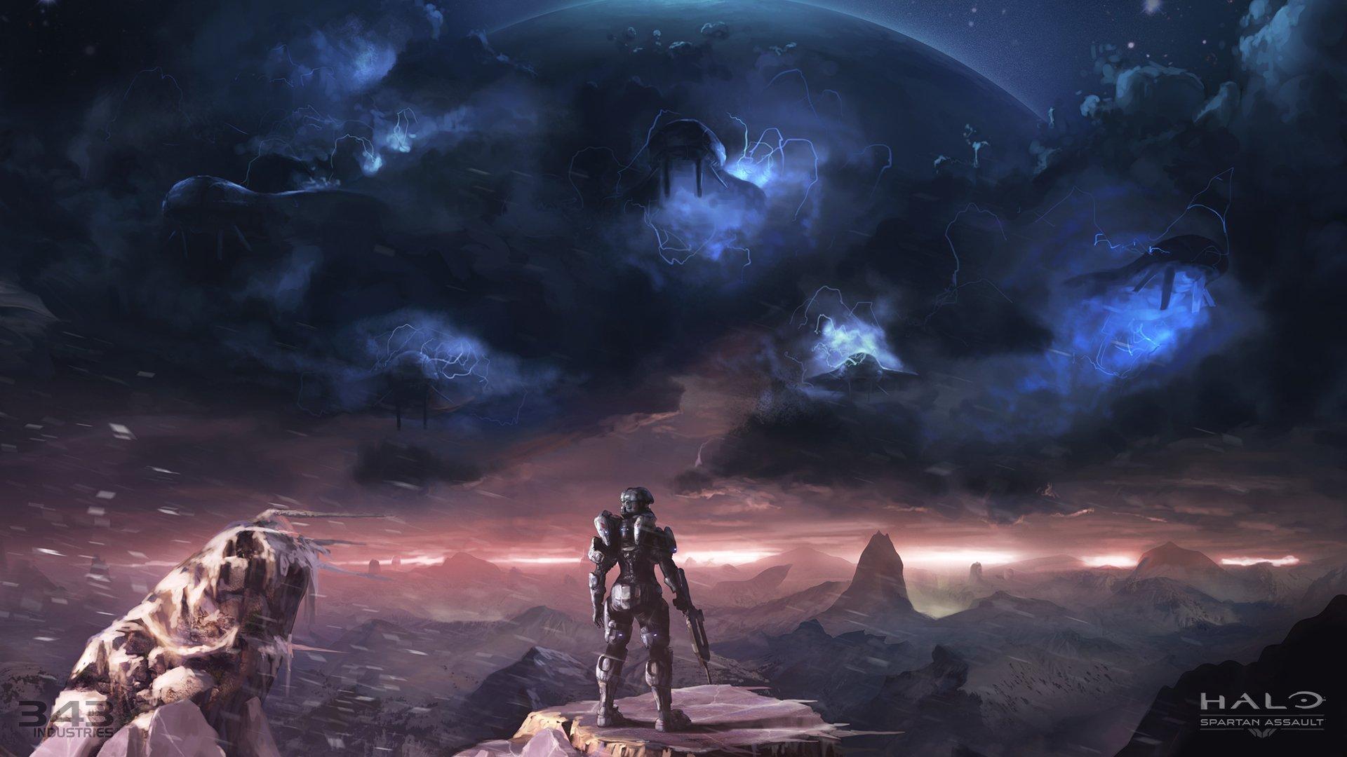 Video Game - Halo: Spartan Assault  Wallpaper