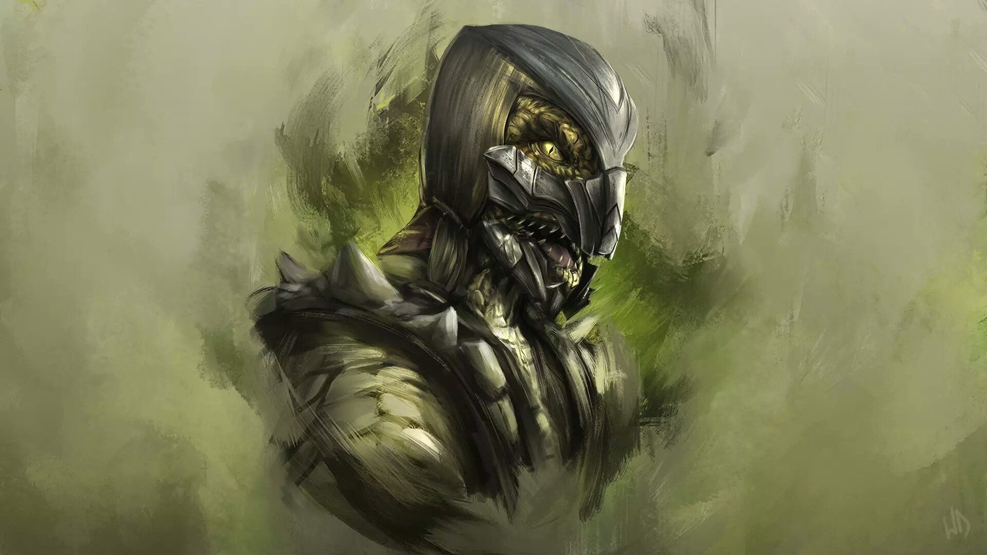 1 reptile (mortal kombat) hd wallpapers | background images