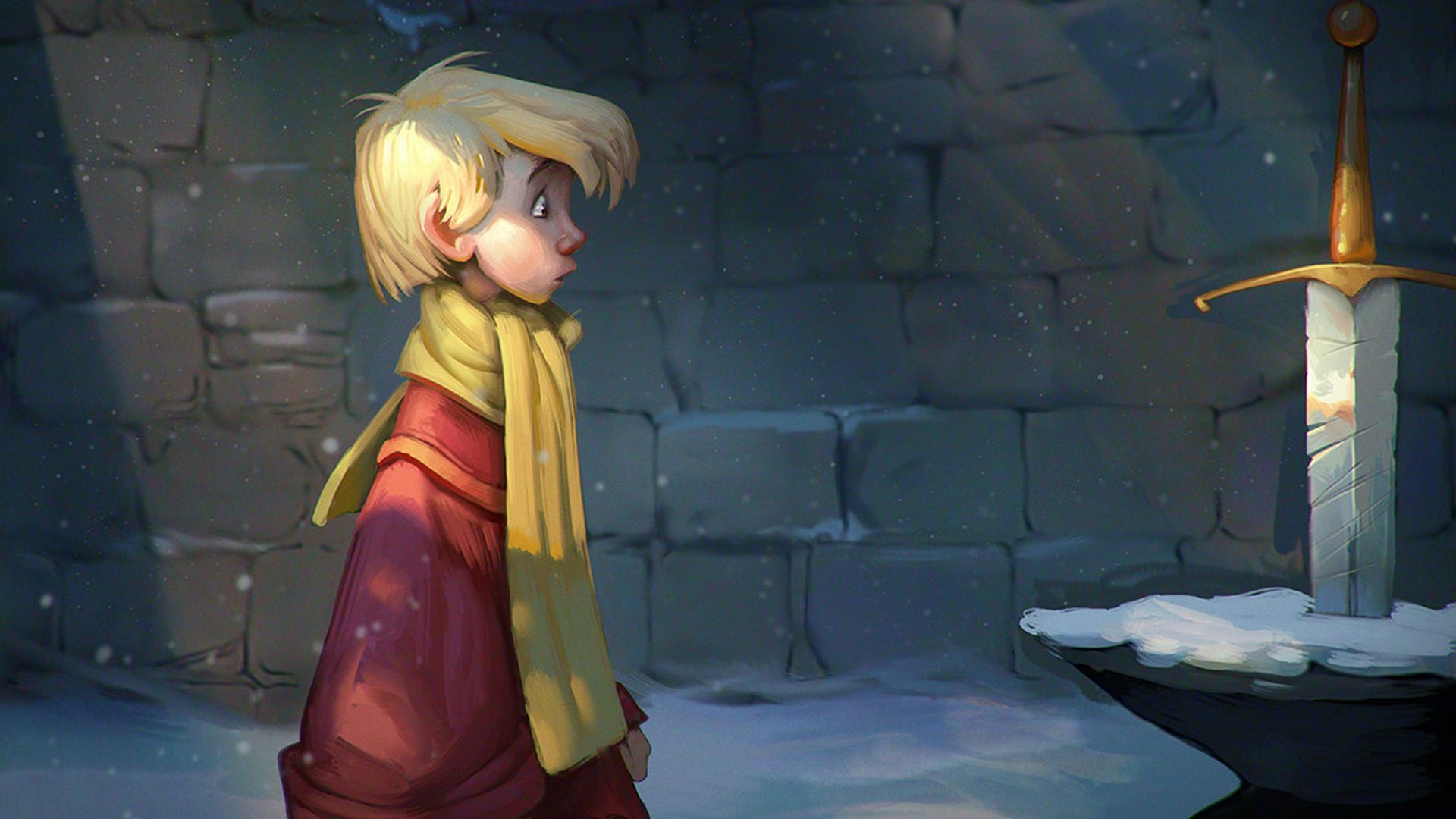 The Sword In The Stone Hd Wallpaper Background Image 1920x1080