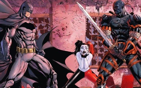 Comics Batman Deathstroke Harley Quinn DC Comics HD Wallpaper   Background Image