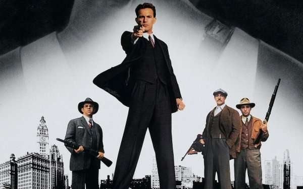 Movie The Untouchables Sean Connery Kevin Costner Andy García Charles Martin Smith HD Wallpaper | Background Image