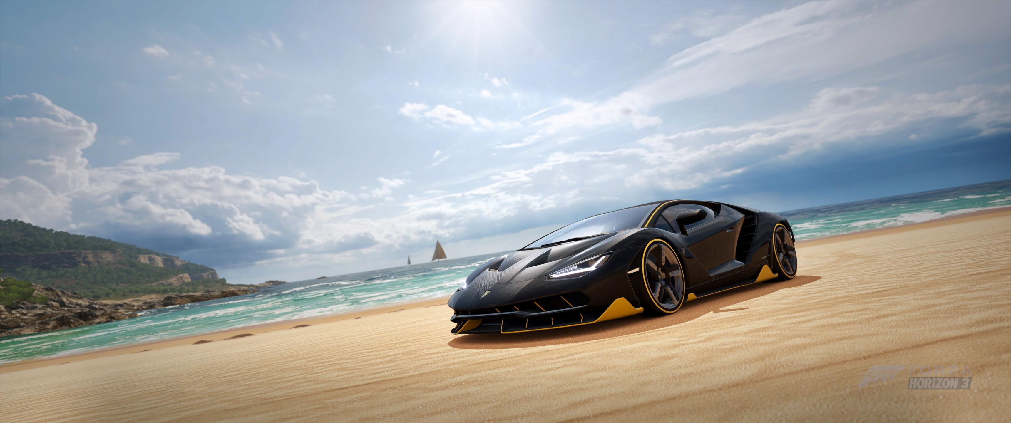 Forza Horizon 3 Lamborghini Centenario Supercar Wallpapers ID826246