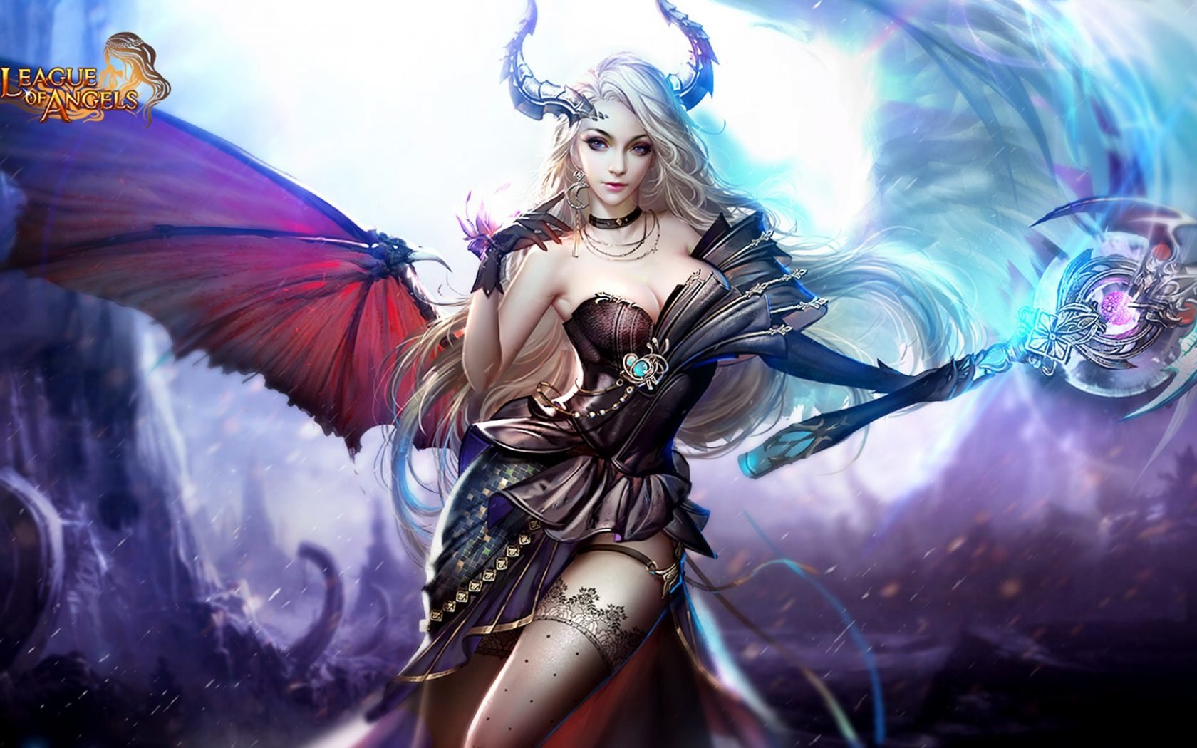 4 League of Angels II HD Wallpapers | Background Images - Wallpaper Abyss