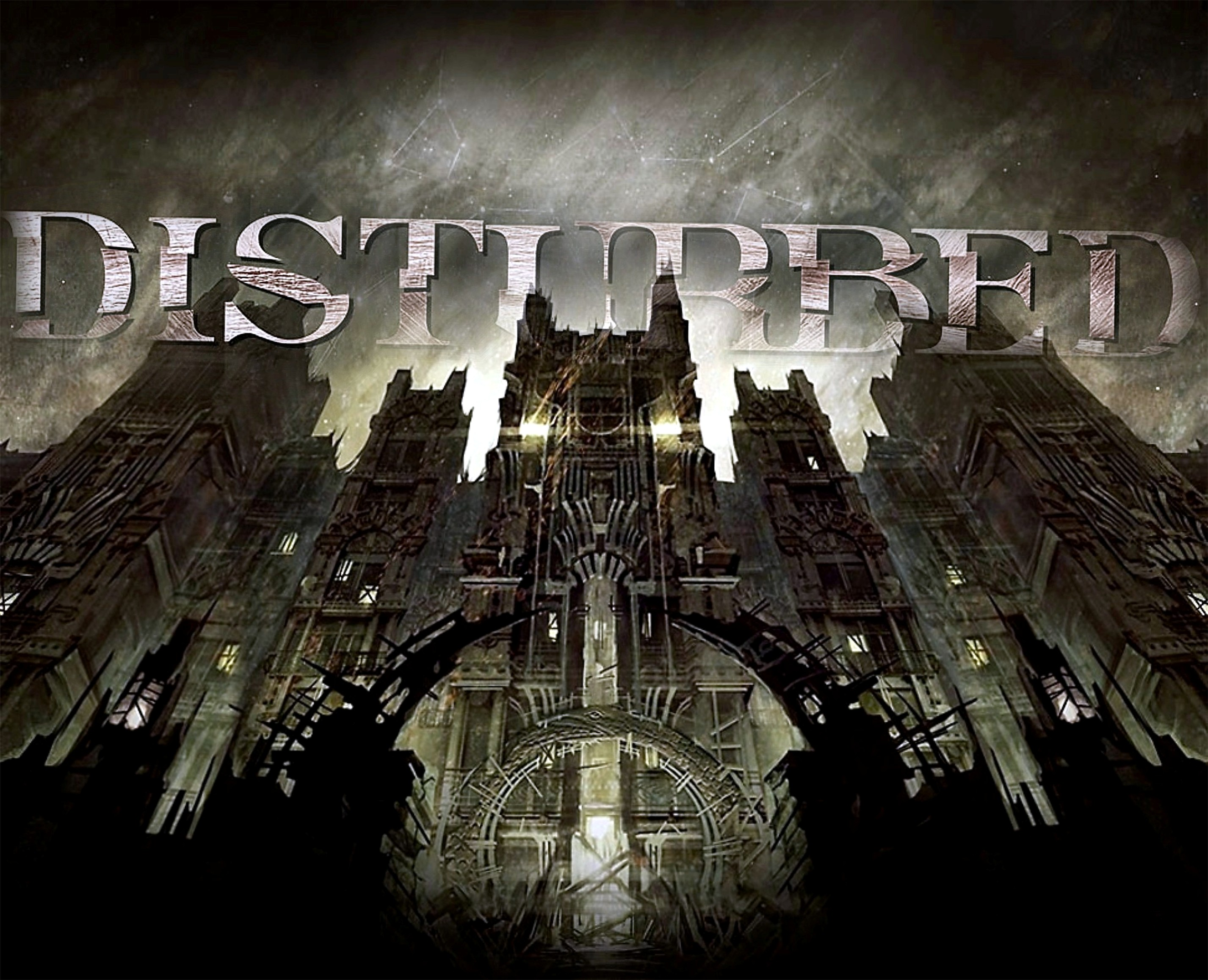 Musik - Disturbed  Metal Asylum Album Stricken Ten Thousand Fists Dropping Plates Musik Bakgrund