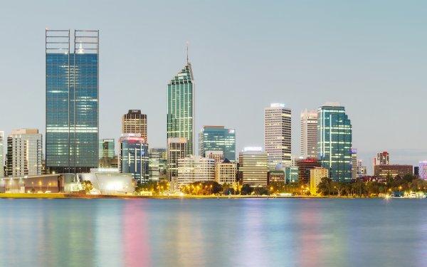 Man Made Perth Cities Australia HD Wallpaper   Background Image