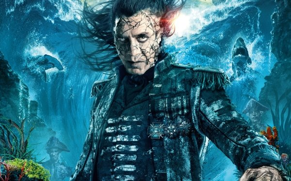 Movie Pirates Of The Caribbean: Dead Men Tell No Tales Captain Salazar Javier Bardem HD Wallpaper | Background Image