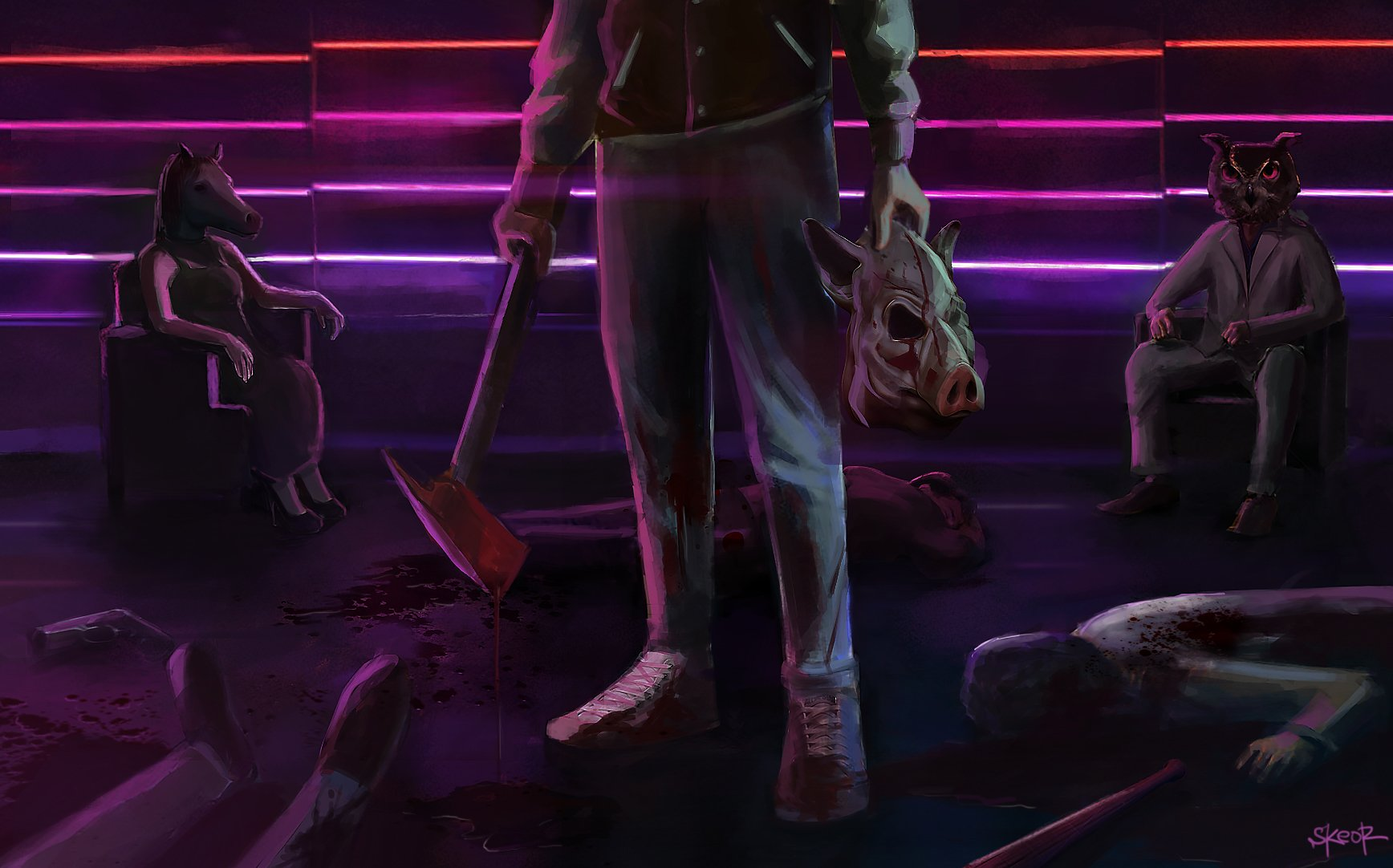 Hotline Miami 2 Wrong Number Wallpaper And Background