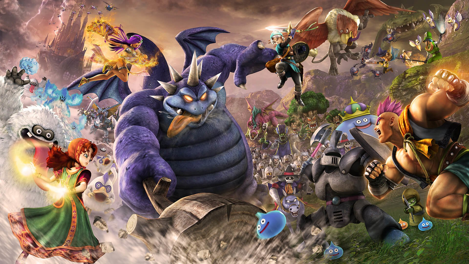 4 Dragon Quest Heroes Ii Hd Wallpapers Background Images Wallpaper Abyss
