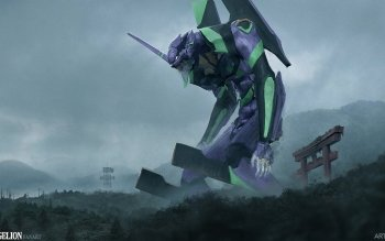 75 Evangelion Unit 01 Hd Wallpapers Background Images Wallpaper Abyss