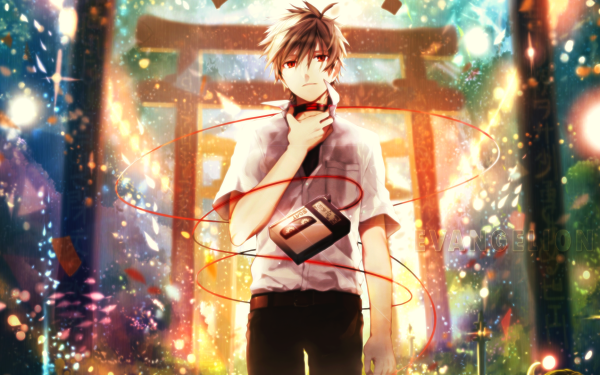 Anime Evangelion: 3.0 You Can (Not) Redo Evangelion Kaworu Nagisa HD Wallpaper | Background Image