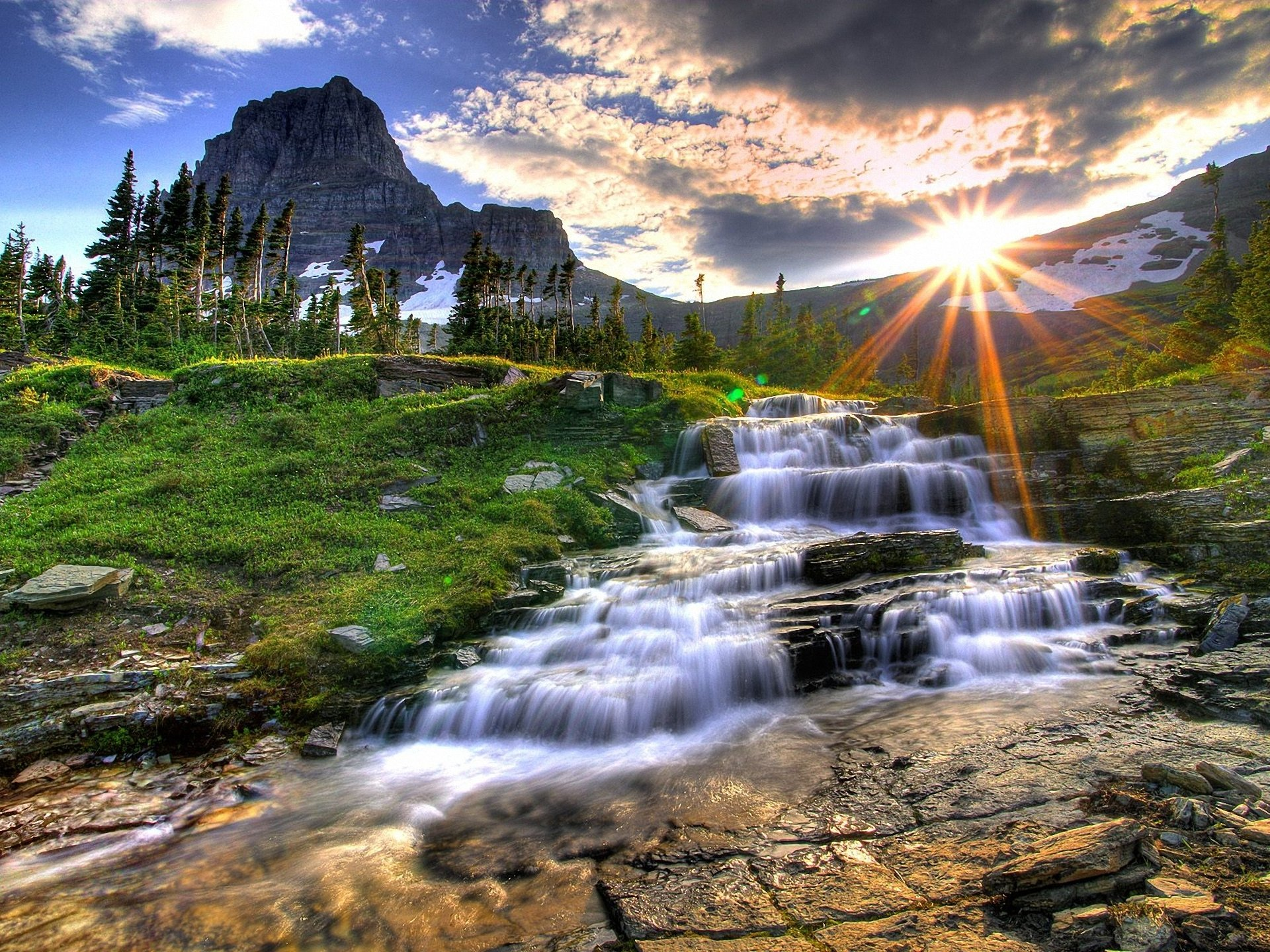 2930 Waterfall HD Wallpapers | Background Images - Wallpaper