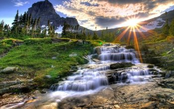 Earth - Waterfall Wallpapers and Backgrounds ID : 83097