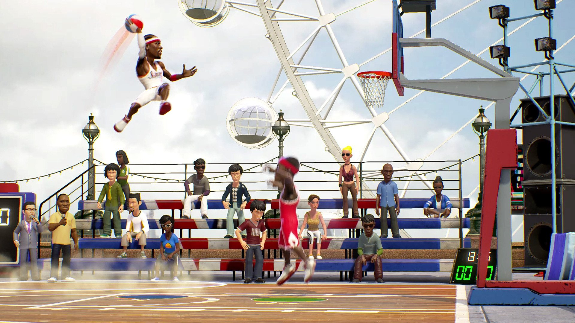 2 Nba Playgrounds Hd Wallpapers Background Images