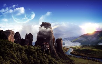 Fantasy - Landschaft Wallpapers and Backgrounds ID : 83169