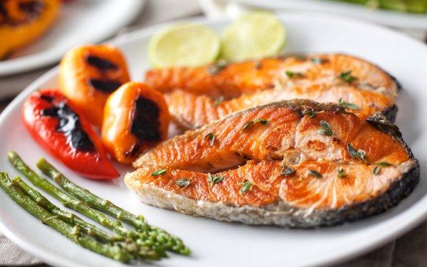 Alimento Pescado Marisco Salmon Fondo de pantalla HD   Fondo de Escritorio