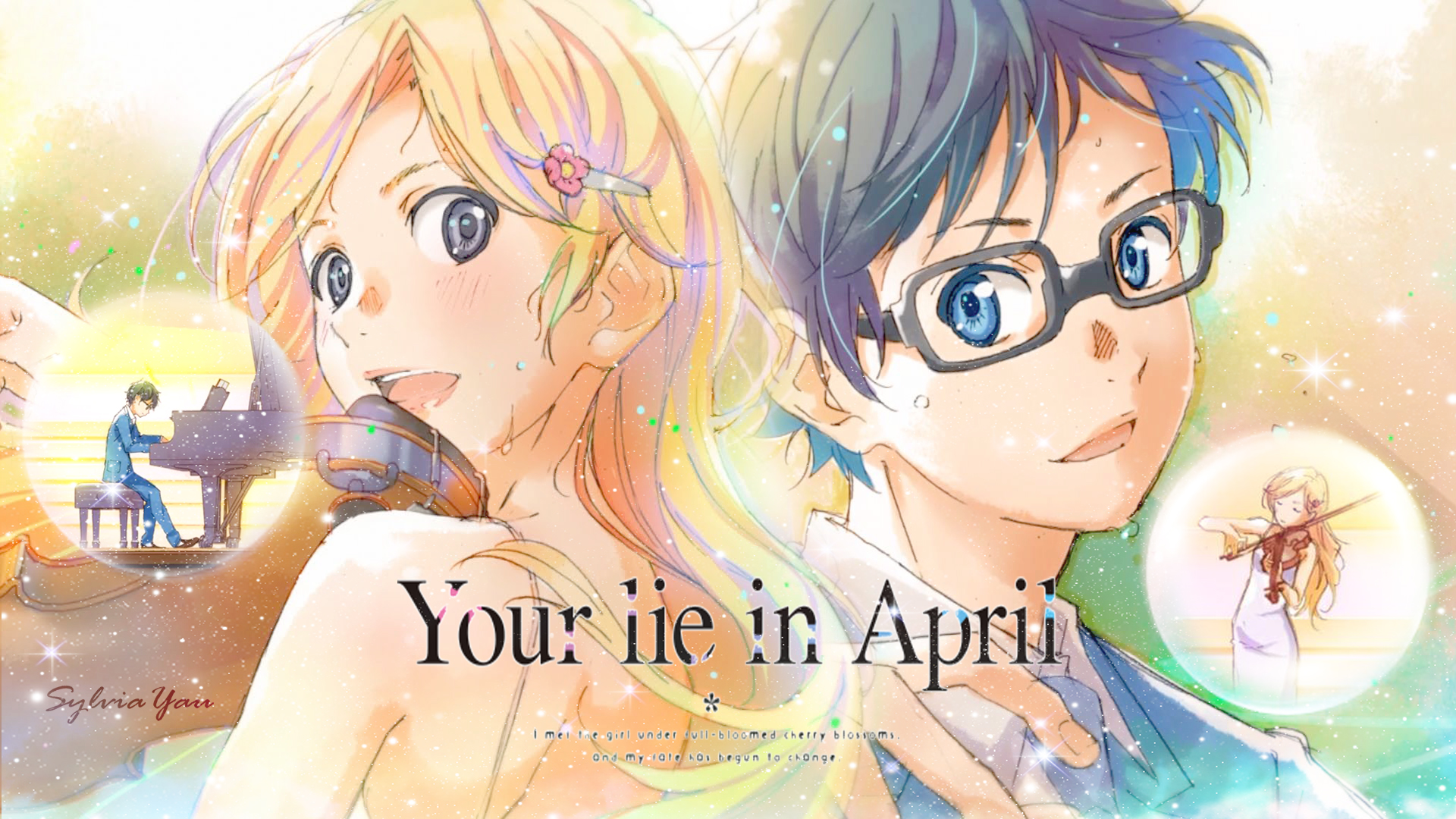 Your Lie In April Wallpaper Hd: Your Lie In April HD Wallpaper