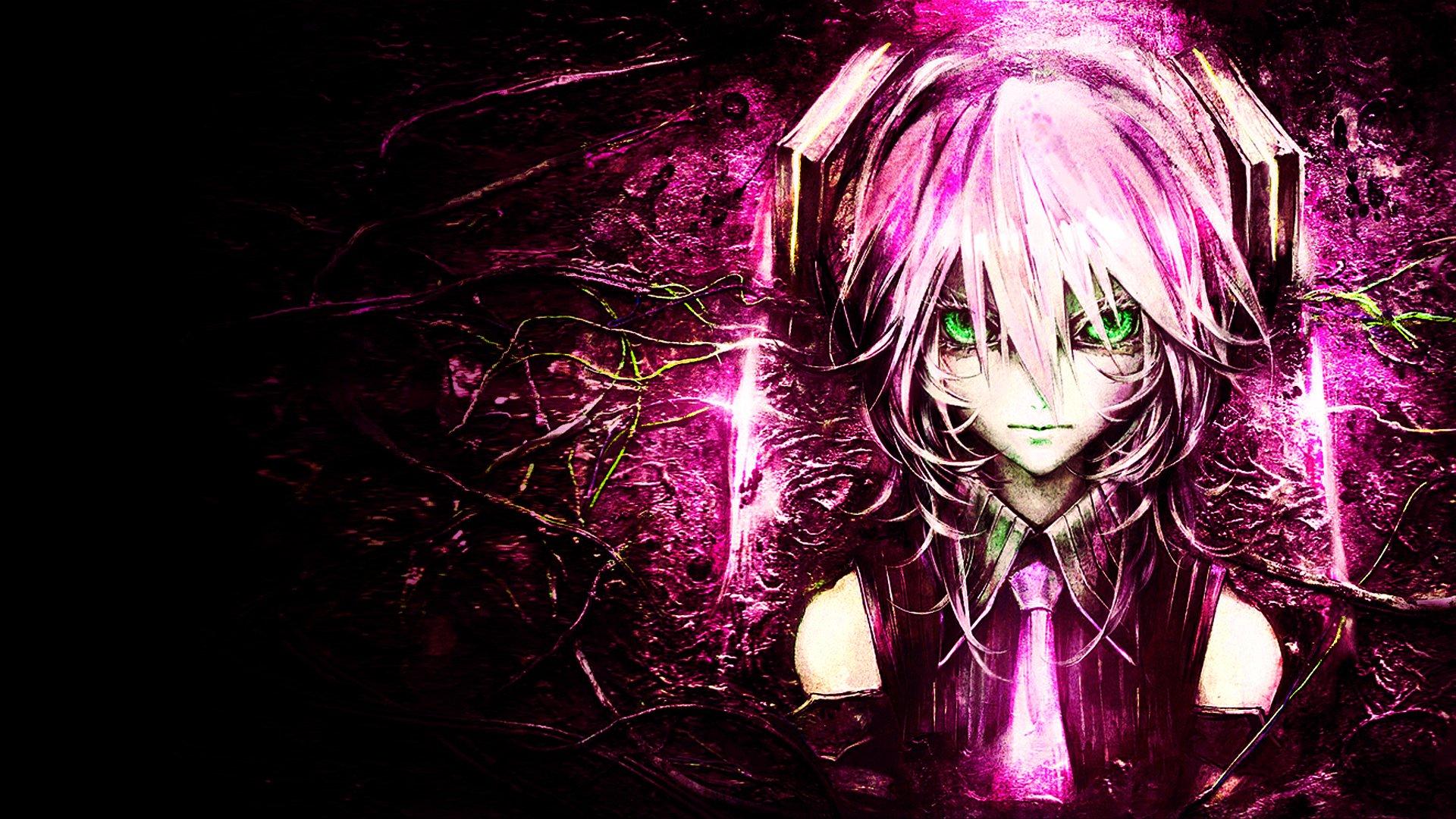 动漫 - Vocaloid  Hatsune Miku Pink Pink Hair Green Eyes 动漫 壁纸