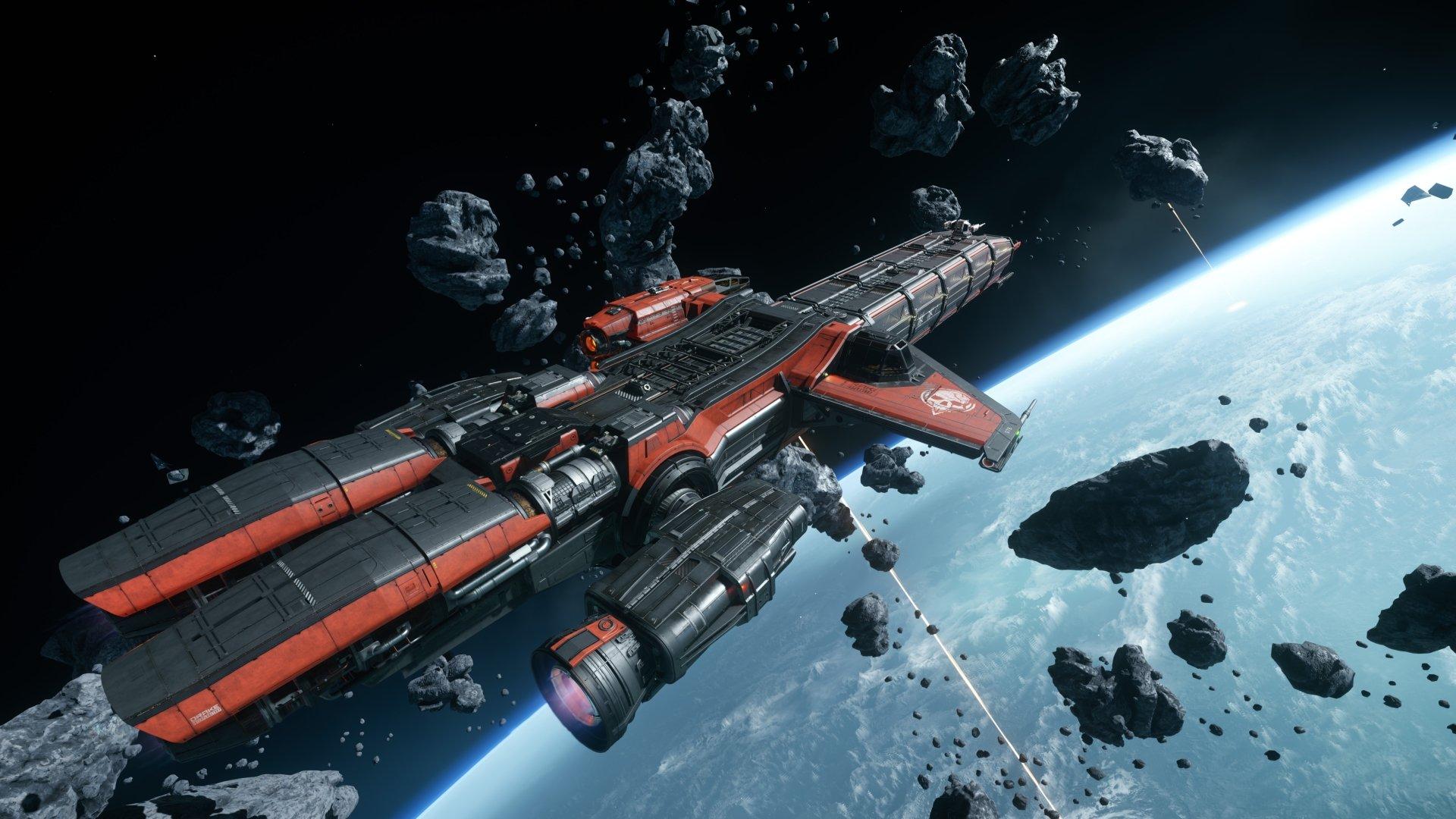 Video Game - Star Citizen  Spaceship Space Asteroid Wallpaper