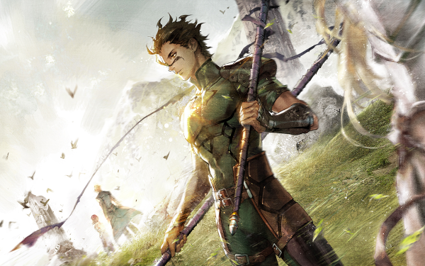 Anime Fate/Zero Fate Series Lancer Spear HD Wallpaper | Background Image