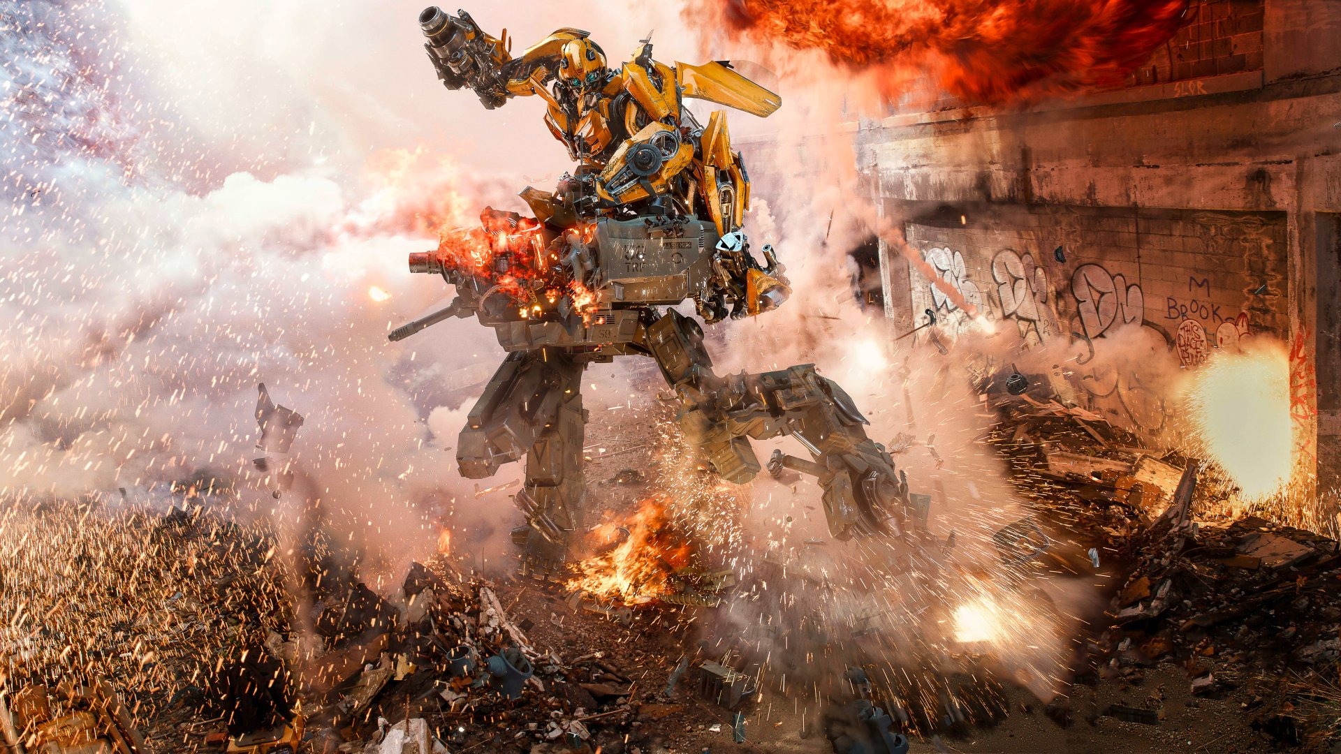 Movie - Transformers: The Last Knight  Bumblebee (Transformers) Wallpaper