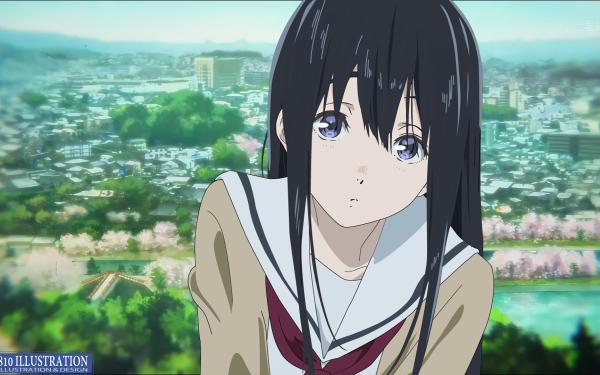 Anime Koe No Katachi Naoka Ueno HD Wallpaper | Background Image