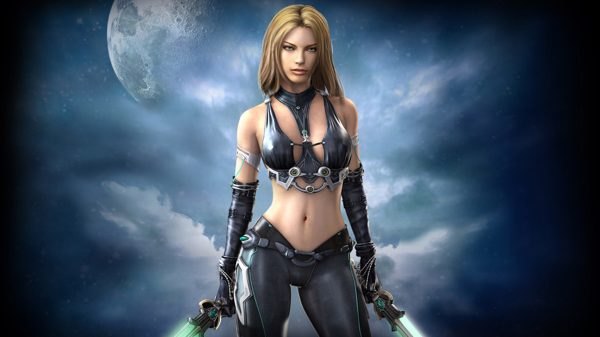 Women warrior full hd wallpaper and background image 1920x1080 fantasy women warrior fantasy warrior moon woman wallpaper voltagebd