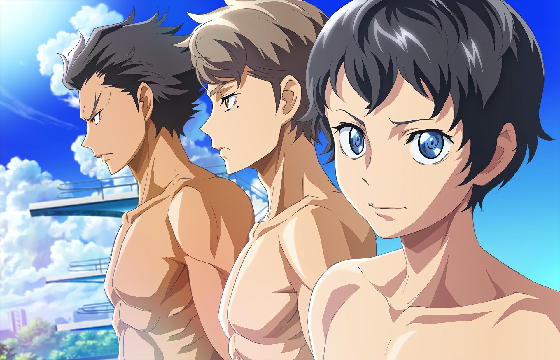 Animes de esporte com Natação - legadoplus