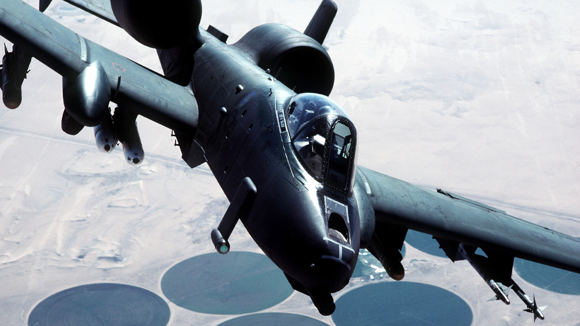 ... 10 Thunderbolt II Military A-10 Thunderbolt Warthog Airplane Wallpaper