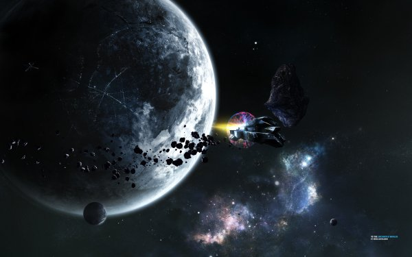 Sci Fi Planet Stars Colors Space HD Wallpaper | Background Image