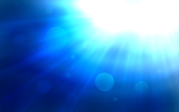 Abstract Blue Light CGI Shapes Colors Texture Fractal HD Wallpaper | Background Image