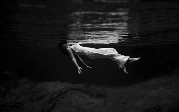 Women Photography Artistic Human Floating Woman HD Wallpaper | Background Image