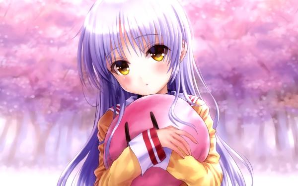 Anime Crossover Kanade Tachibana Angel Beats! Clannad HD Wallpaper | Background Image