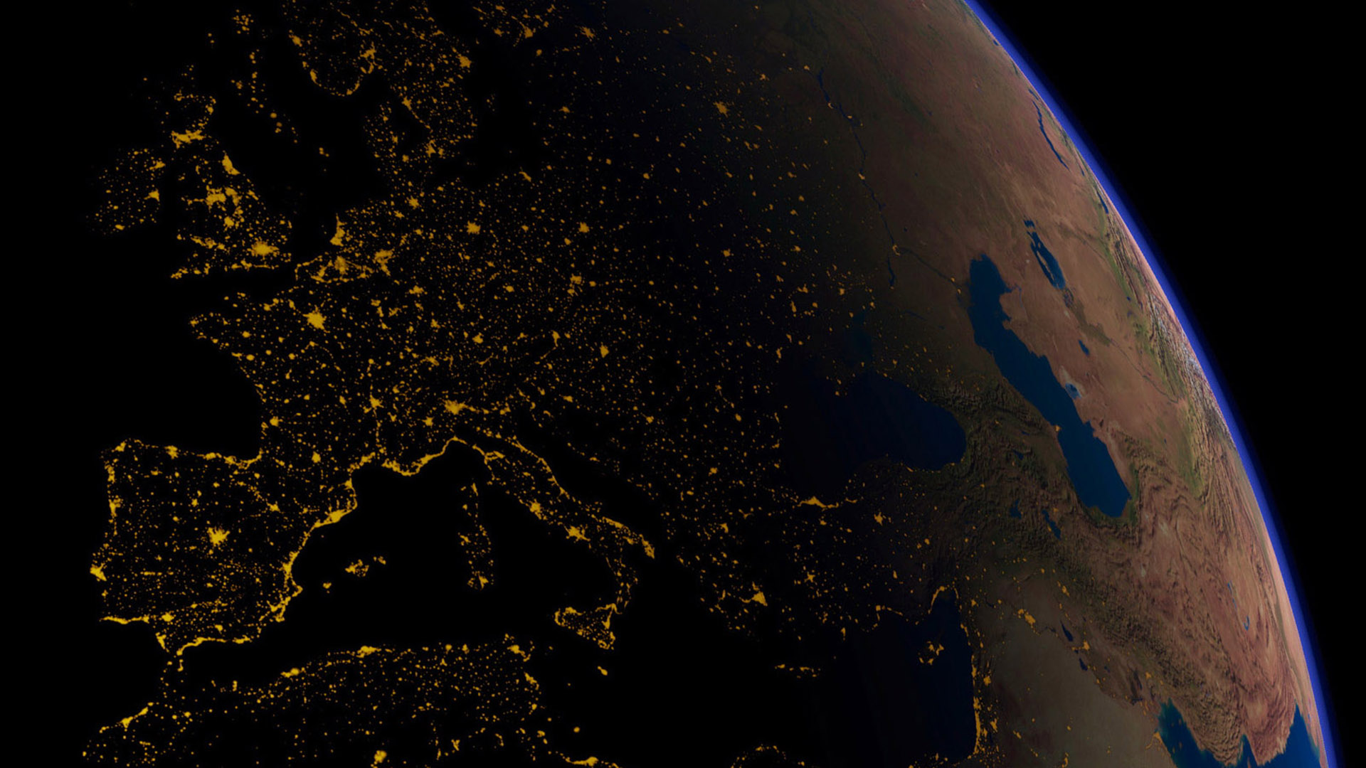 earth from space europe earth space wallpaper