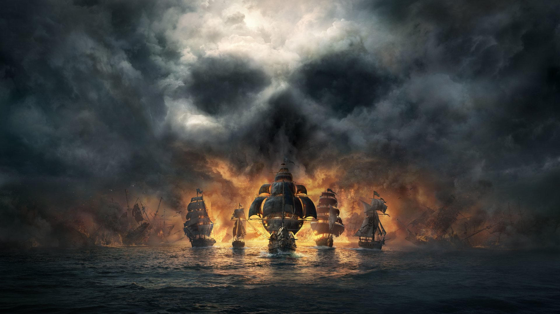 Video Game - Skull and Bones  Pirate Ship Wallpaper