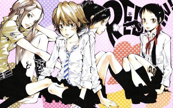 Anime Katekyō Hitman Reborn! Bianchi I-Pin Haru Miura Kyoko Sasagawa HD Wallpaper | Background Image