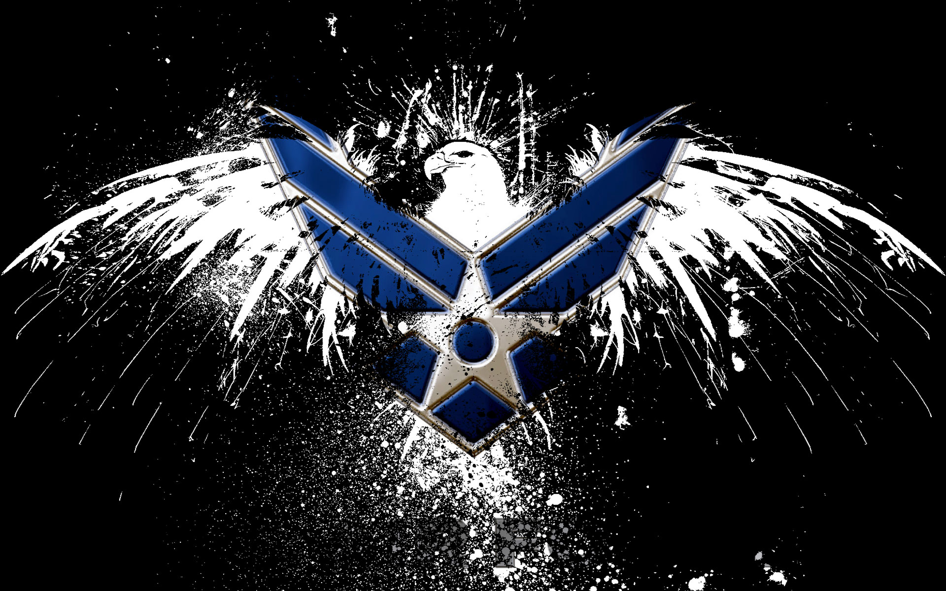 145 air force hd wallpapers background images - Cool logo wallpapers ...