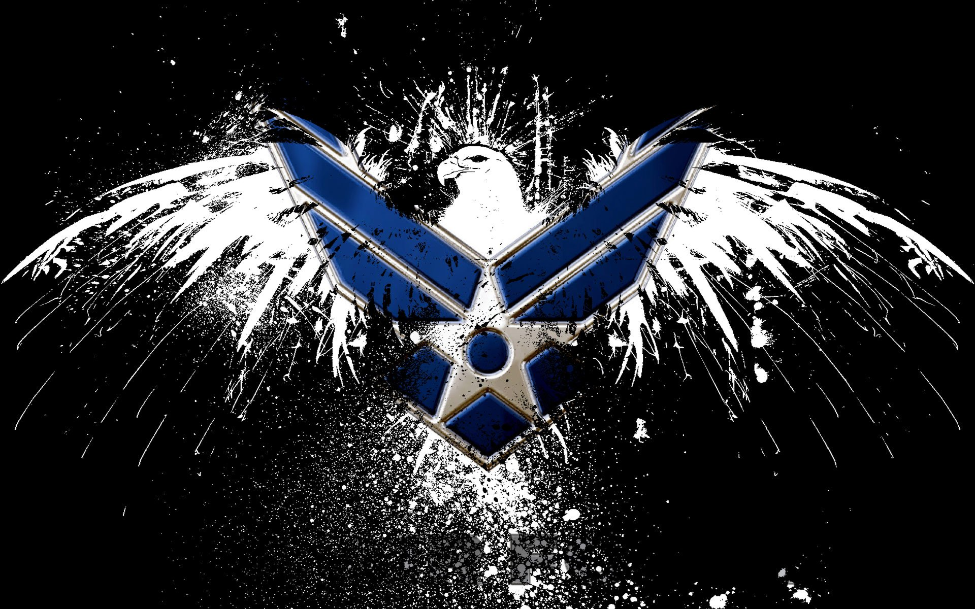 Military - Logo  Air Force Wallpaper