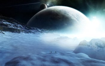 Sci Fi - Planet Rise Wallpapers and Backgrounds ID : 84495