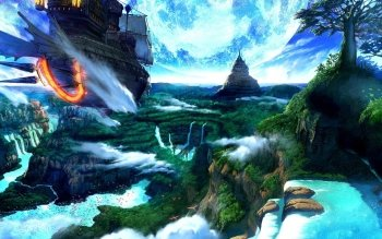 Fantasy - Landschaft Wallpapers and Backgrounds ID : 84527