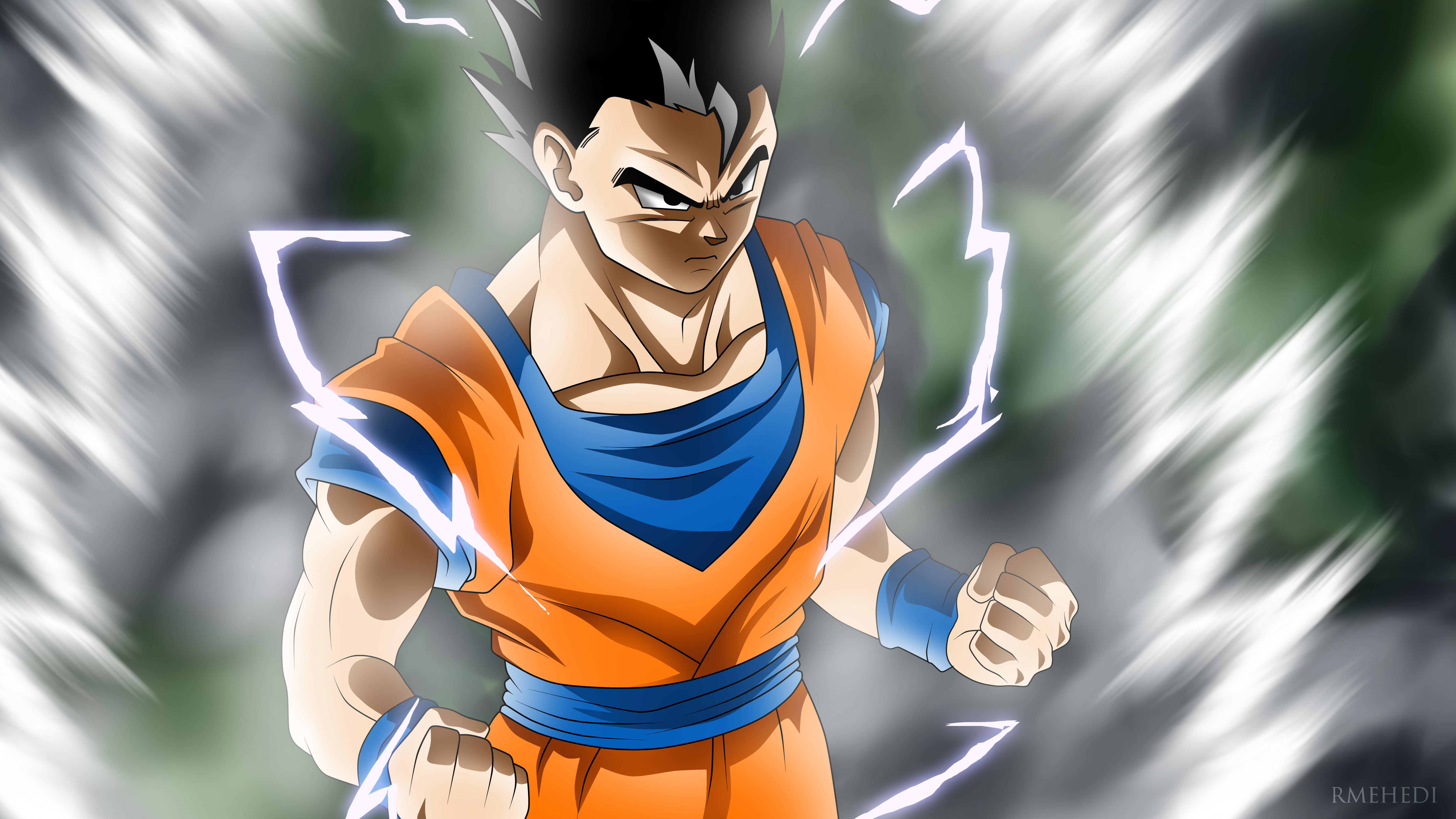 48 4k Ultra Hd Gohan Dragon Ball Wallpapers Background Images Wallpaper Abyss