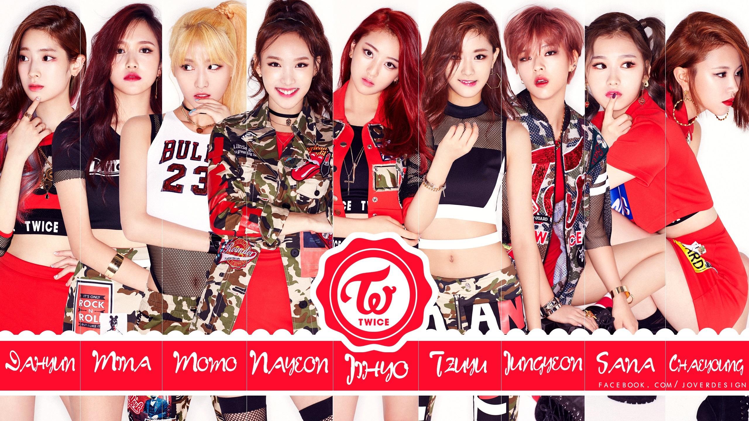 Twice K Pop Wallpaper Hd Wallpaper Background Image 2560x1440