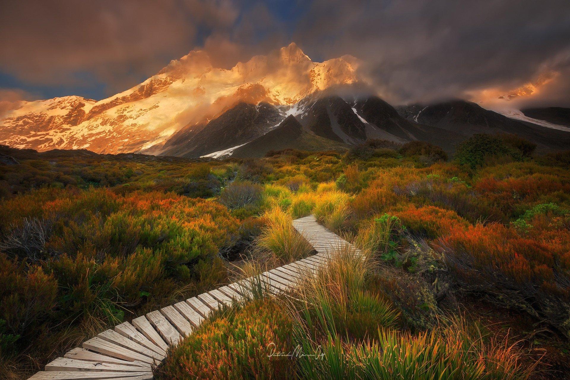 Amoklauf Neuseeland Hd: Sefton's Garden, Aoraki National Park, New Zealand HD