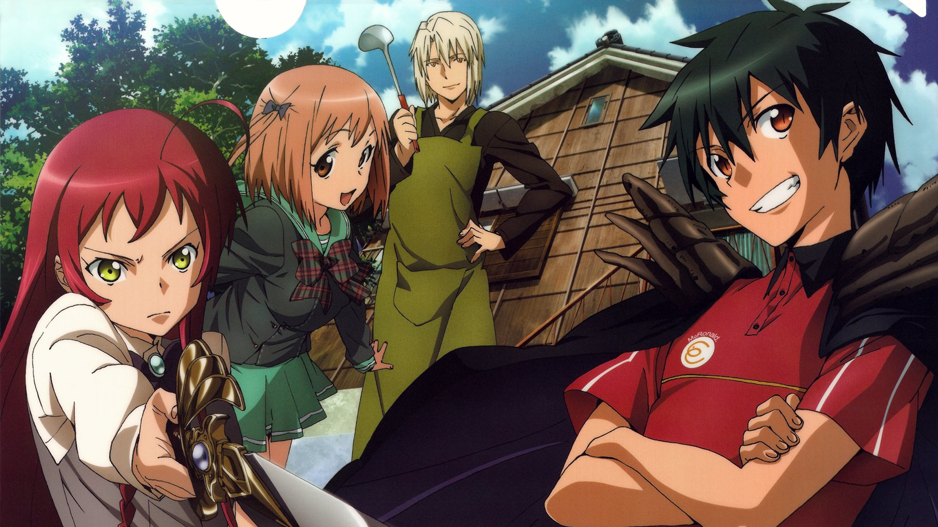 The Devil Is A Part Timer Hd Wallpaper Background Image 1920x1080 Id 849881 Wallpaper Abyss
