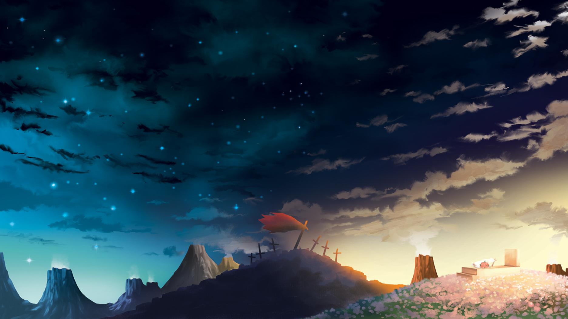Tengen toppa gurren lagann wallpaper and background image - Anime scenery wallpaper laptop ...