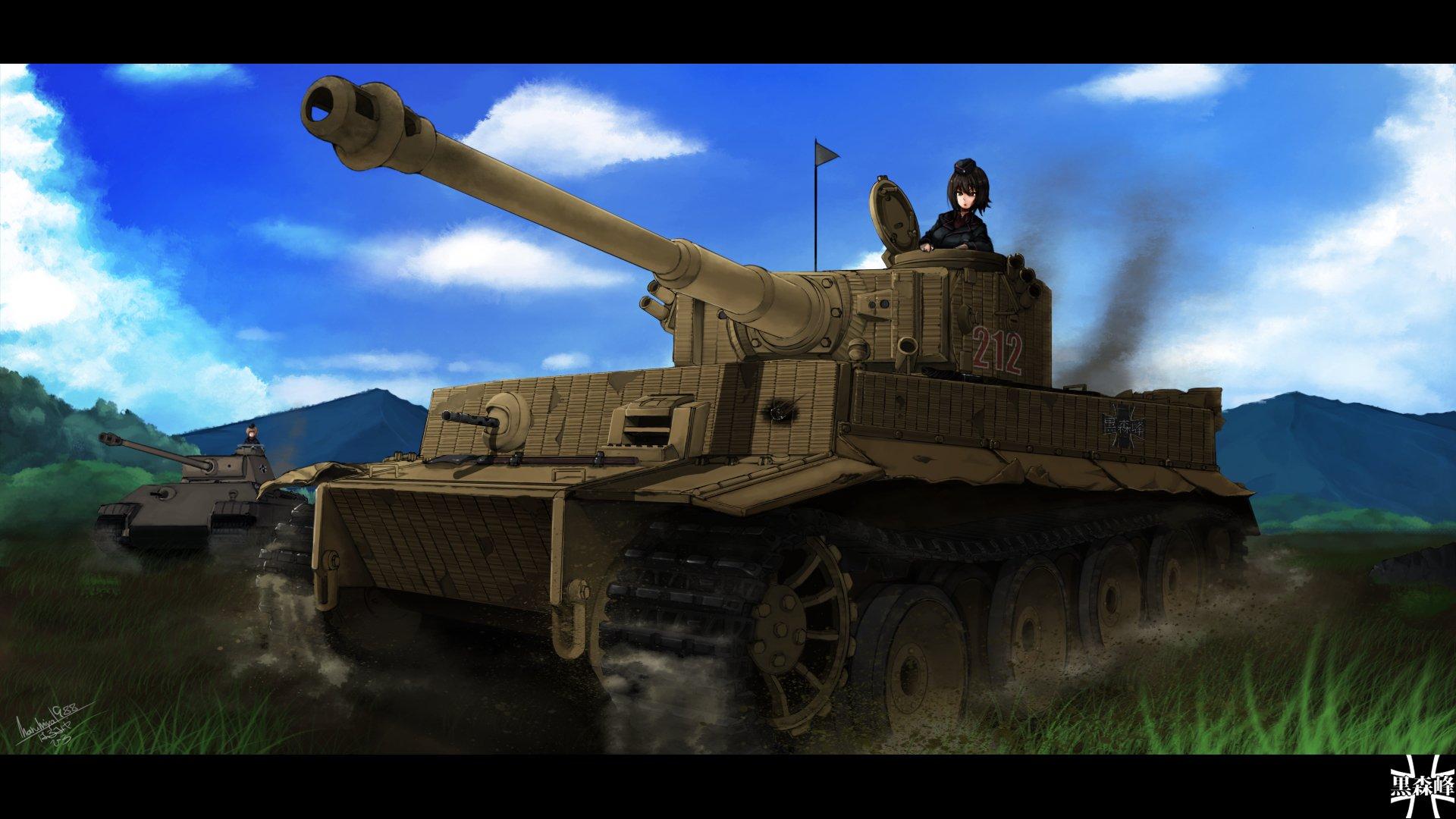 Girls Und Panzer Hd Wallpaper Background Image